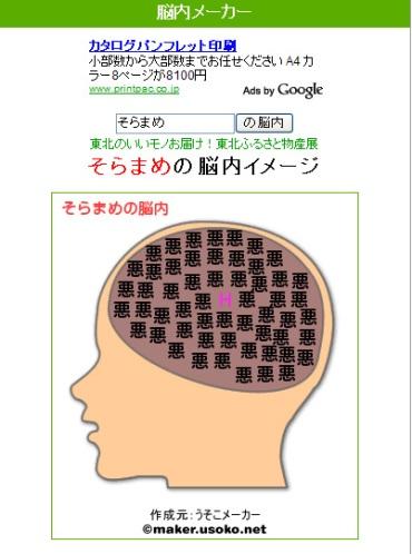 脳内メーカー 今考えてる こと